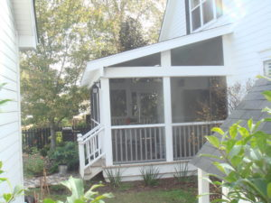 Screened In Porch Greenville SC