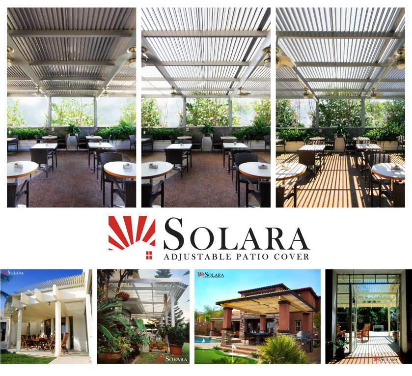 Solara Adjustable Patio Covers