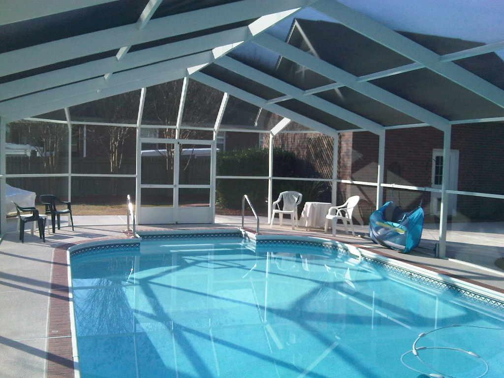 Pool Enclosures Charleston Sc