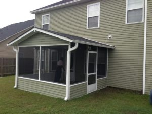 Screened in Porch Warner Robins GA