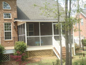 Screened-In Porch Midway GA